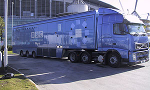 BBC Outside Broadcasts truck