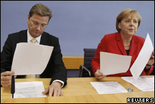 Germany's cabinet has announced budget cuts