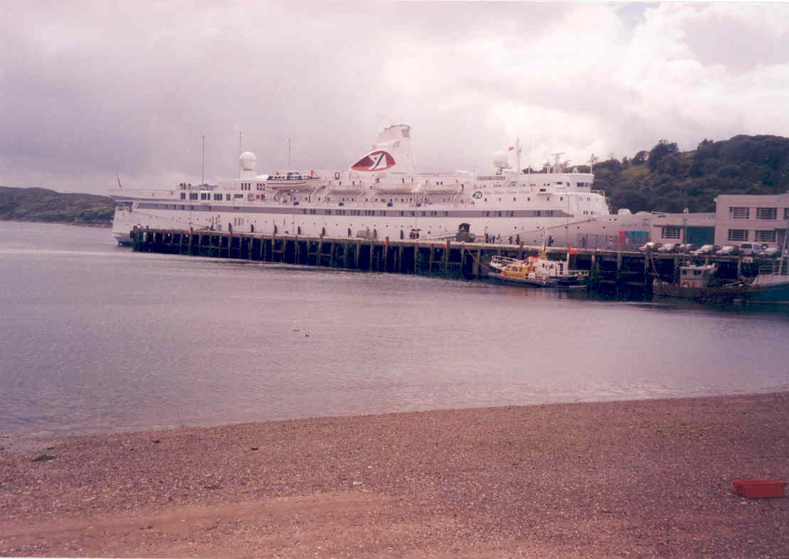 Black Prince at no 1 Pier
