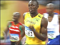 Olympic Gold winner Usain Bolt