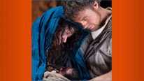 Mary (Tatiana Maslany) and Joseph (Andrew Buchan) star in a magical four-part adaptation of The Nativity