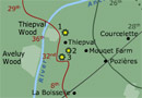 Graphic from 'Animated Map: Battle of the Somme' game