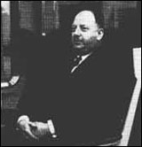 a photograph of Dr Richard Beeching.