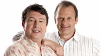 BBC Radio 2 presenters Mark Radcliffe and Stuart Maconie