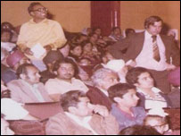 Audience at the Ritz Cinema