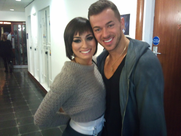 Artem Chigvintsev and Flavia Cacace