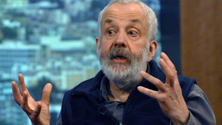 Mike Leigh, as pictured in 2008