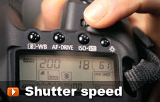 Watch shutter speed video