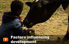 Watch 'Factors influencing development' video