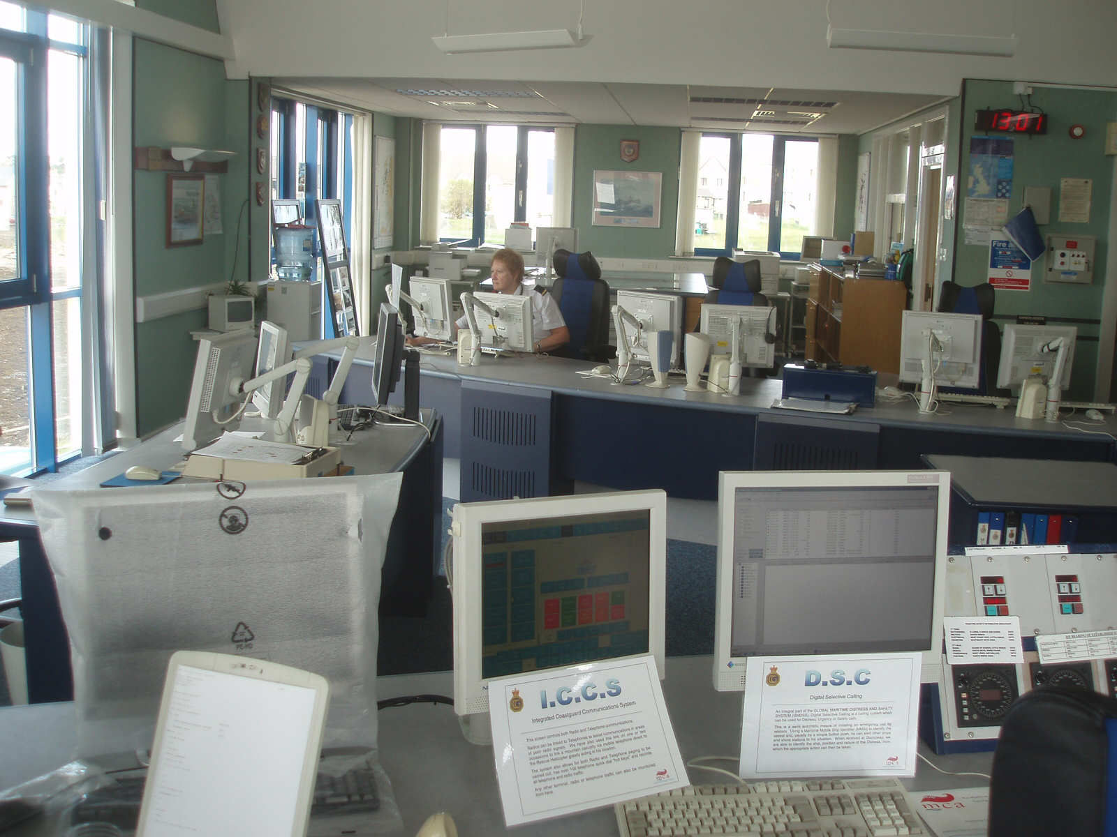 Ops Room in the Coastguard Station