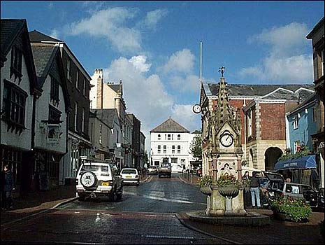 Great Torrington town centre