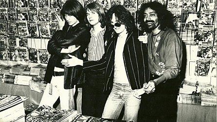 Russ, Tony, Micky and Len of The Table (1977)