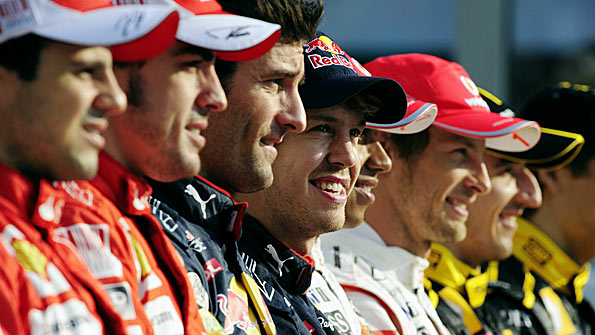 BBC - Andrew Benson: Who were the top 10 F1 drivers of 2010?