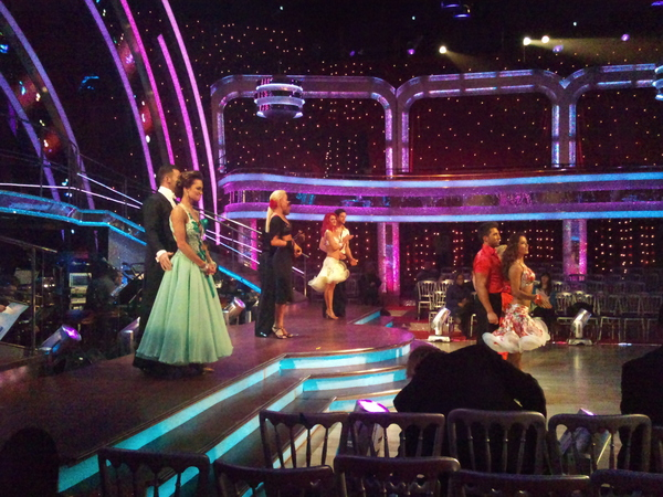 The Strictly semi-finalists