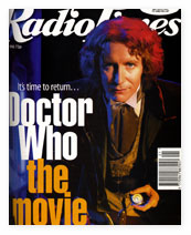 Radio Times, Bank Holiday 1996, featuring Paul McGann.
