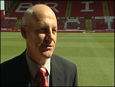 Steve Coppell at Ashton Gate
