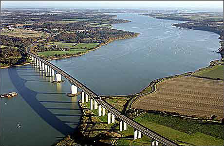 Orwell Bridge from another angle