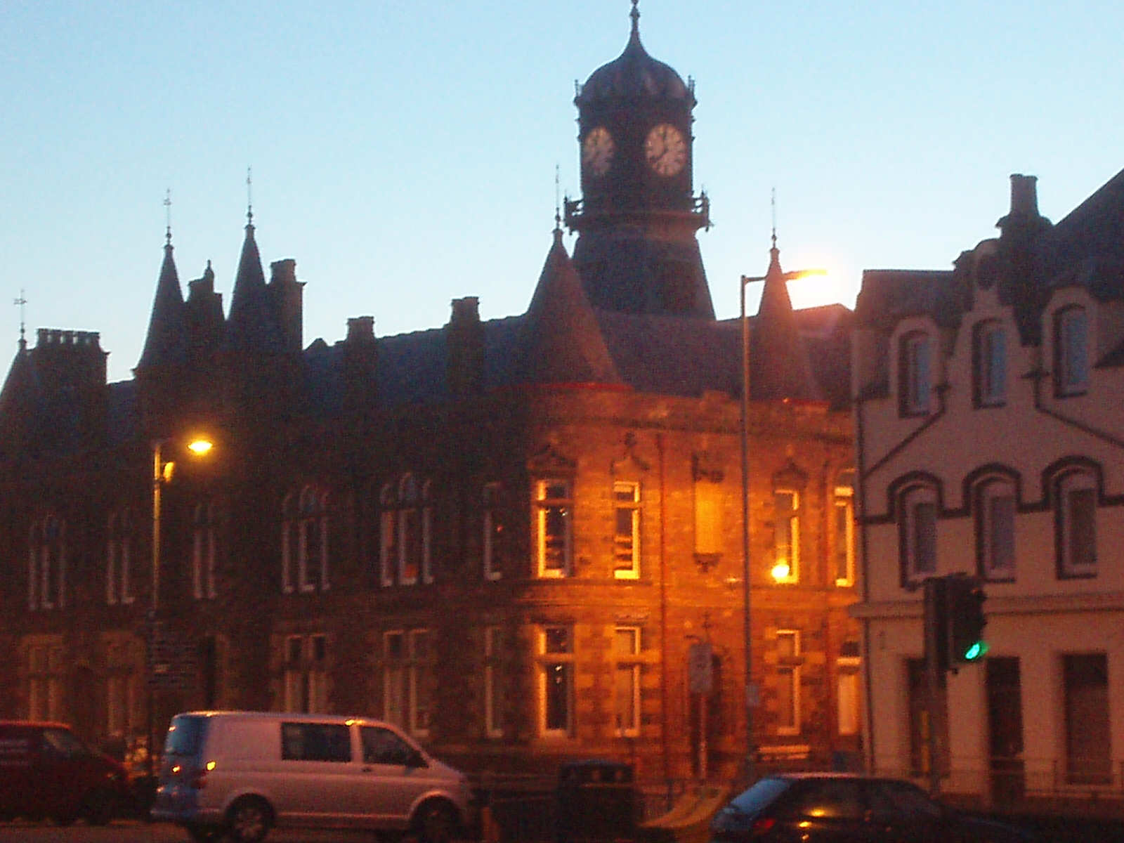Stornoway Town Centre at 11.39pm