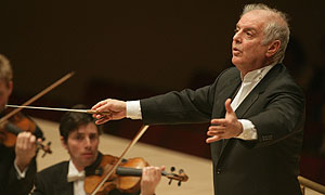 Daniel Barenboim who will be conducting the Vienna New Year's Day Concert Live from Vienna on BBC Two (image: BBC/Chris Lee)