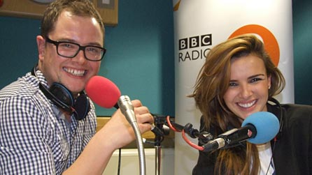 Alan Carr and Nadine Coyle