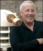 Terry Molloy with Dalek