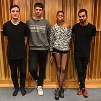 AlunaGeorge in the Live Lounge