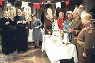 Photograph from a scene in BBC Dad's Army