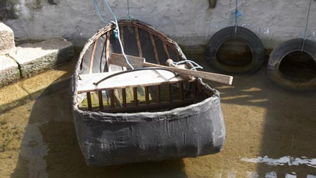 Welsh coracle.