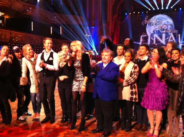 Zoe Ball and the Strictly 2011 cast