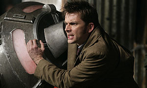 David Tennant in Doctor Who: The Doctor's Daughter