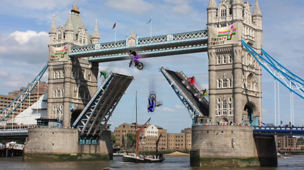 BMXing on Tower Bridge