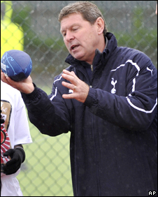Clive Allen at the 'Football and Football' event in Tottenham