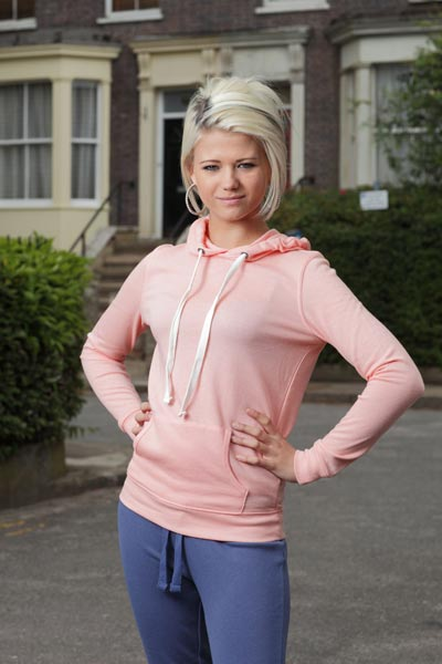 Lola Pearce in Albert Square