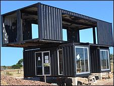 Bbc mundo noticias vivir a usted dentro de un contenedor - Casas hechas con contenedores precios ...