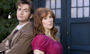 Doctor Who series 4: David Tennant as The Doctor and Catherine Tate as Donna