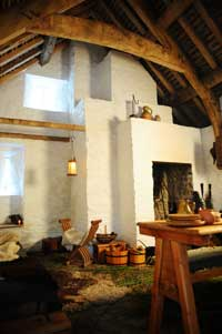 Medieval house interior