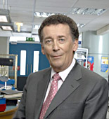 Mark (Robert Powell) questions his job at Holby City