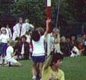 The Maypole dancing display at Ulcombe school's summer fayre is held every year.