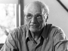 Arthur Miller, author of The Crucible