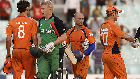 Kevin O'Brien and Dutch players