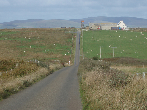 Road on Hoy