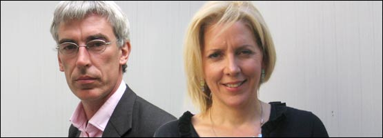 Owen Bennett-Jones and Carrie Gracie