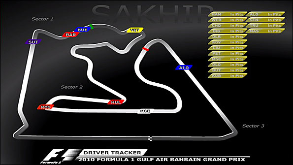 A sample image from our new F1 driver tracker