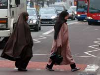 Arab women in London