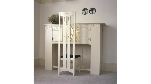 Charles Rennie Mackintosh desk