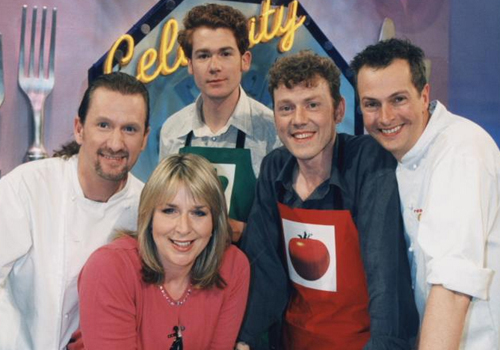 Paul Rankin, Nick Nairn and Fern Britton with guests.