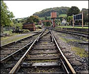 The track at Buckfastleigh