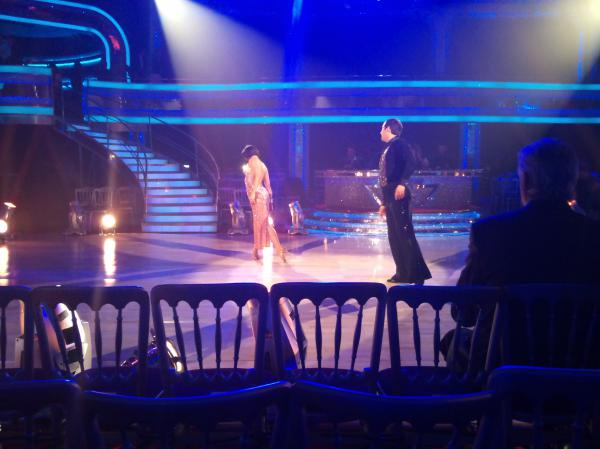 Jimi Mistry and Flavia Cacace in dress rehearsal