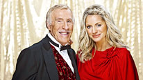 Bruce Forsyth and Tess Daly present the Strictly Come Dancing Christmas Special