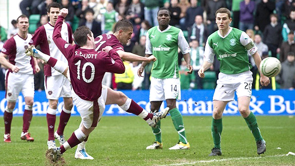 A strong Hearts and Hibs is good for Edinburgh...and for Scottish football. Photo: SNS